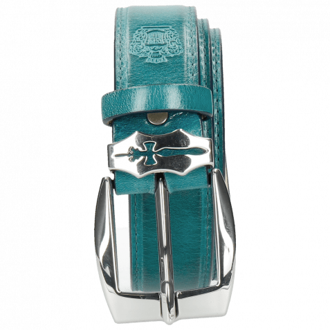 Gürtel Larry 1 Turquoise Sword Buckle