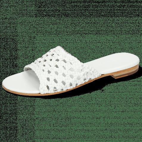 Pantoletten Hanna 5 White