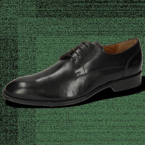 Derby Schuhe Kane 2 Black Lining Rich Tan
