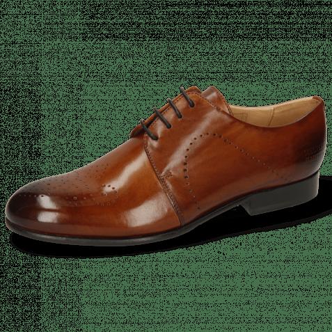 Derby Schuhe Sally 1 Wood Lining Rich Tan