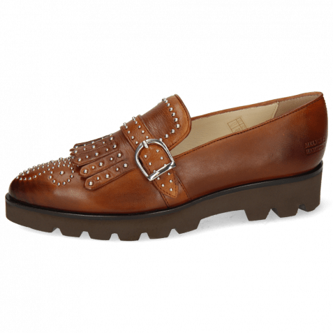 Loafers Jessy 26 Nappa Glove 2 Wood Rivets