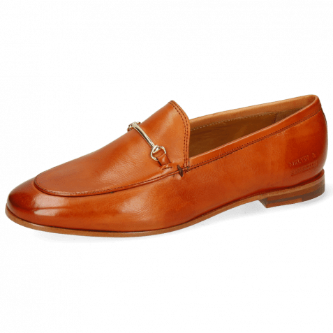 Loafers Scarlett 22 Pisa Arancio Trim Gold