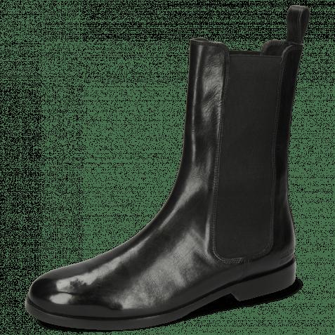 Stiefel Susan 88 Imola Black Elastic Flex