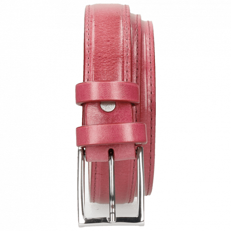 Gürtel Linda 1 Dark Pink Classic Buckle