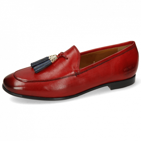 Loafers Scarlett 48 Pisa Ruby Accessory Gold