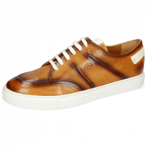 Sneakers Harvey 15  Vegas Tan Shade Mid Brown Patches