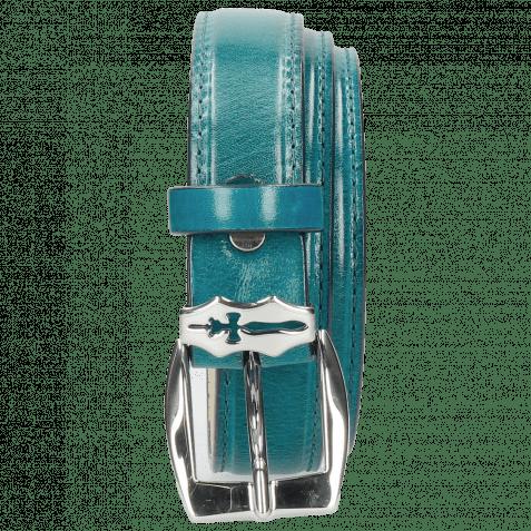Gürtel Linda 1 Turquoise Sword Buckle