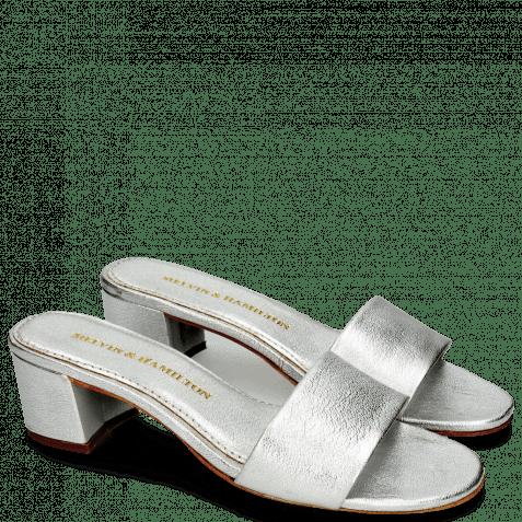 Pantoletten Alice 1 Cherso Silver
