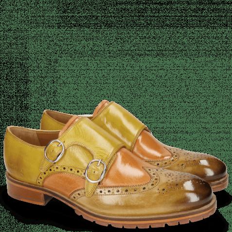 Monk Schuhe Patrick 24 Clay Howline Margarine