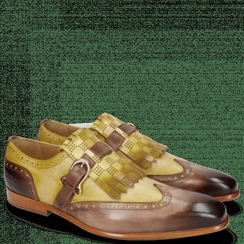 Monk Schuhe Lance 29 Mogano Sol