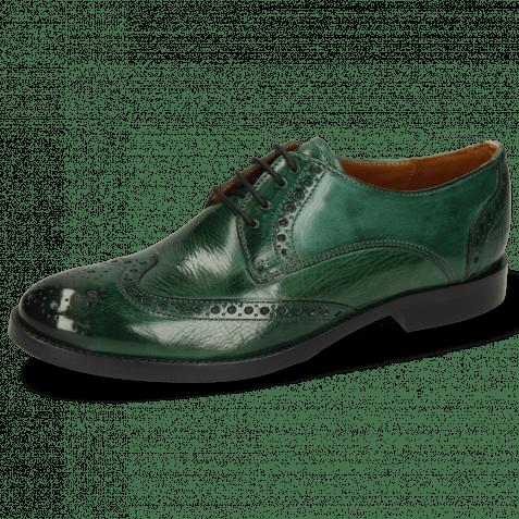 Derby Schuhe Amelie 3 Pine Lining Nappa