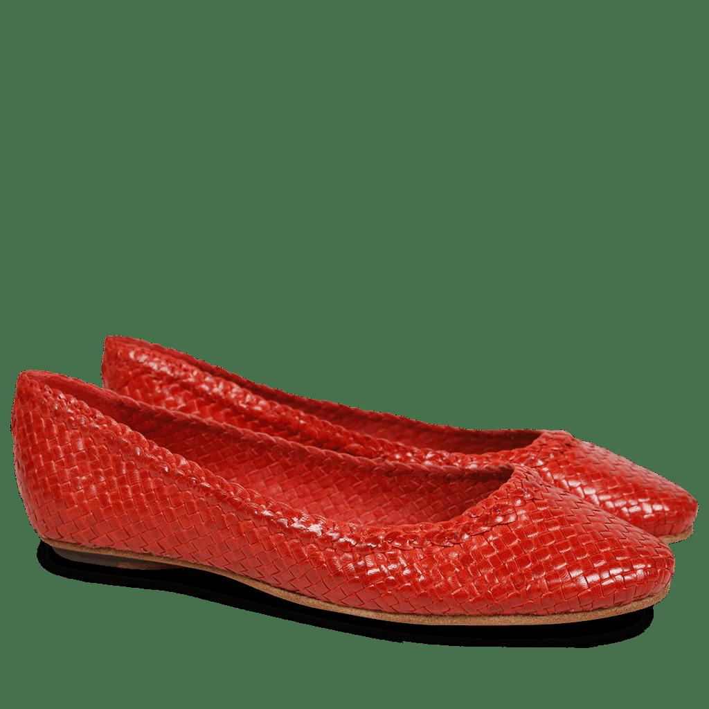 Kate 5 Woven Rouge LS | Melvin & Hamilton