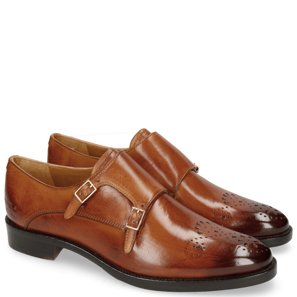 Monk Schuhe Betty 9 Tan