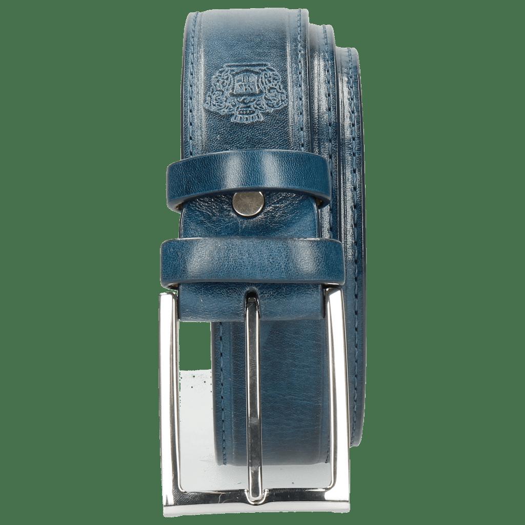Gürtel Larry 1 Mid Blue Classic Buckle
