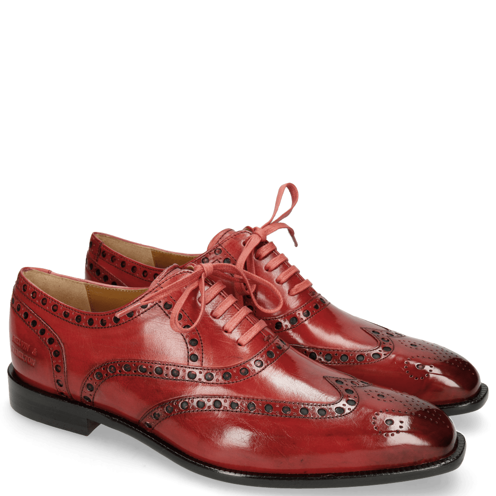 Oxford Schuhe Jacob 1 Washed Ruby