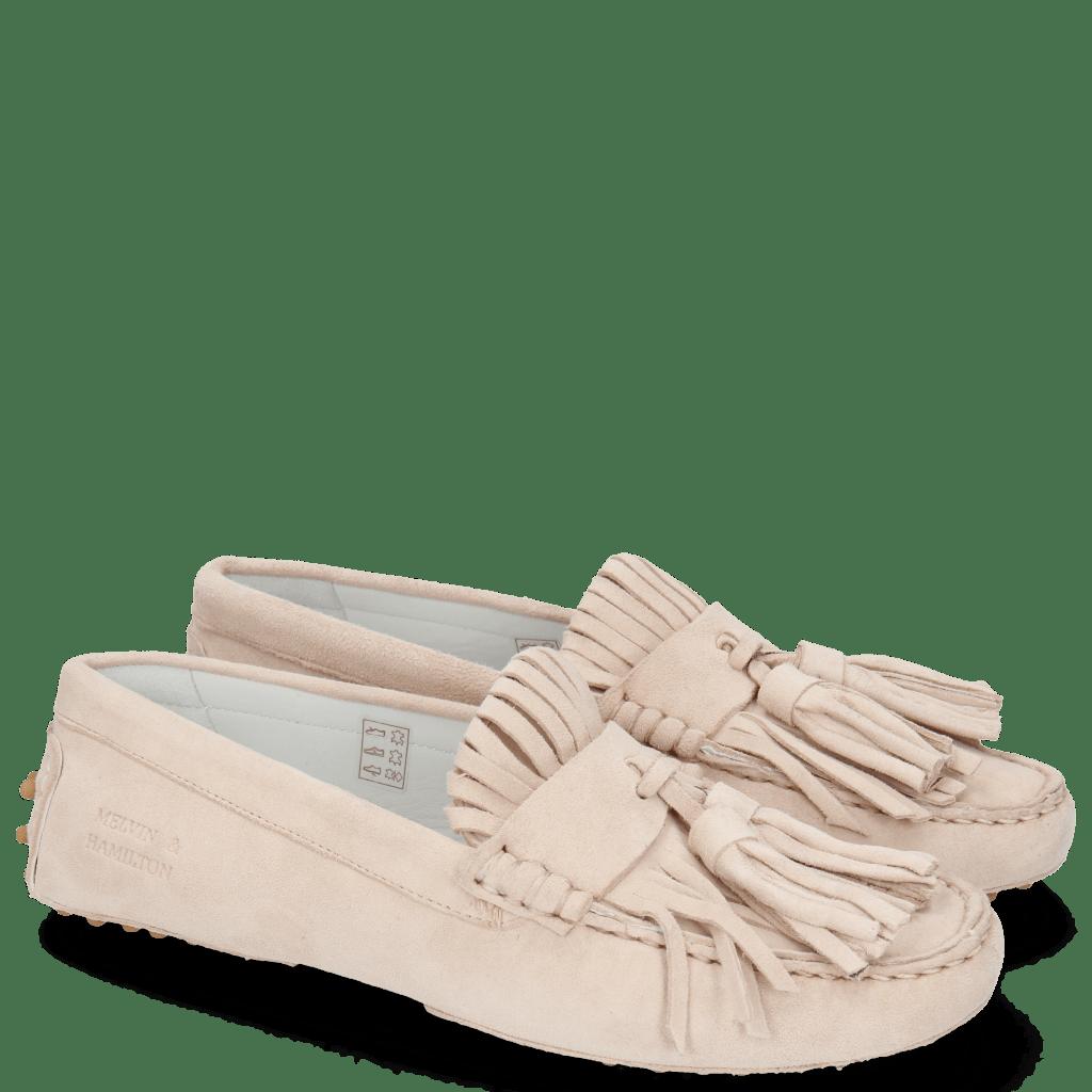 Loafers Caroline 2 Parma Suede Nude