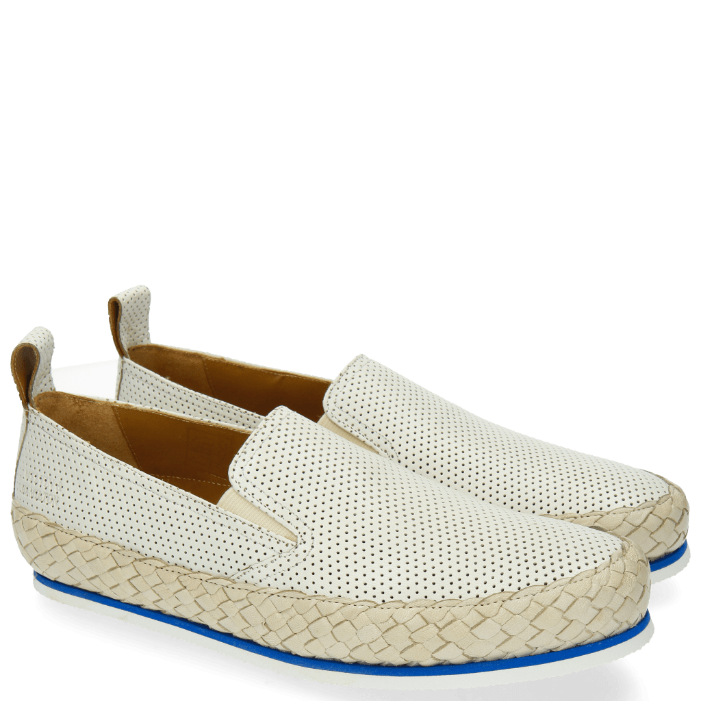 Loafers Alfred 1 Venice Perfo White