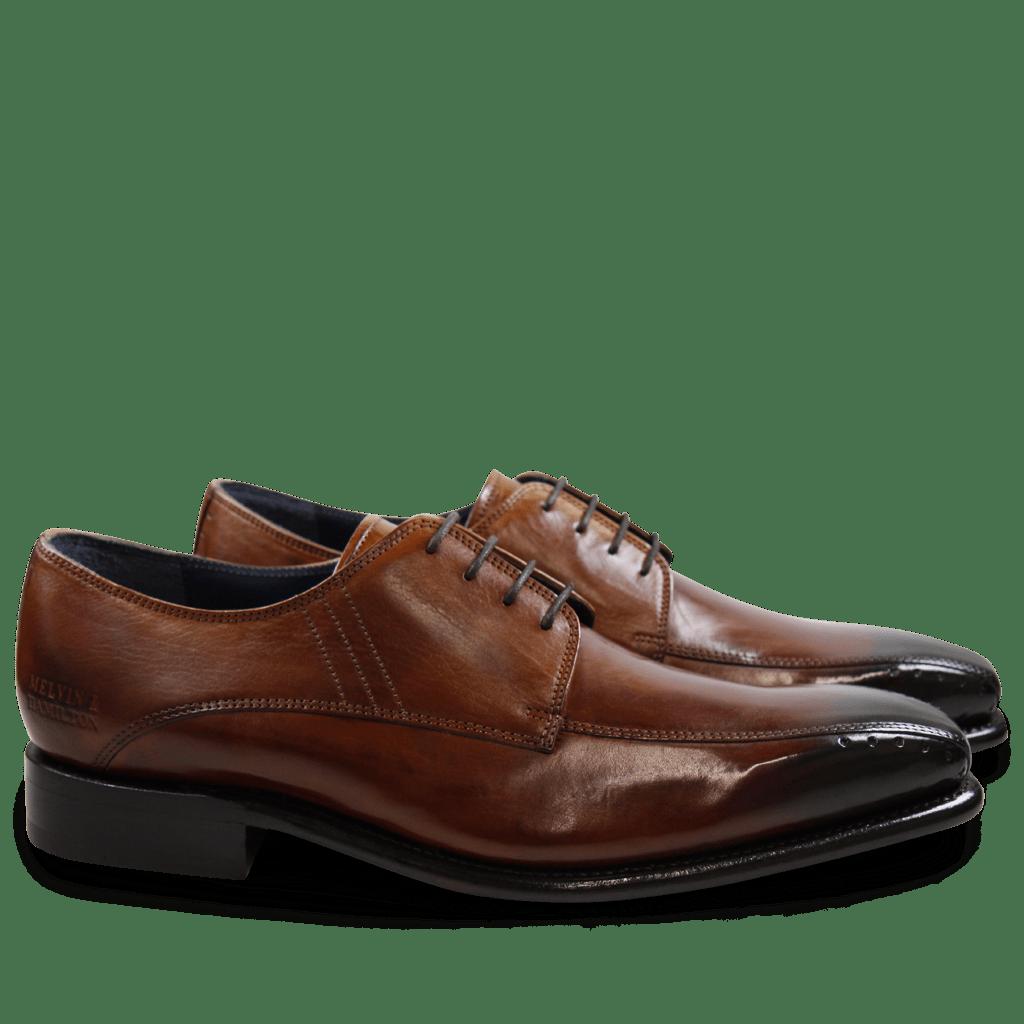 Derby Schuhe Stanley 1 Crust Tan LS