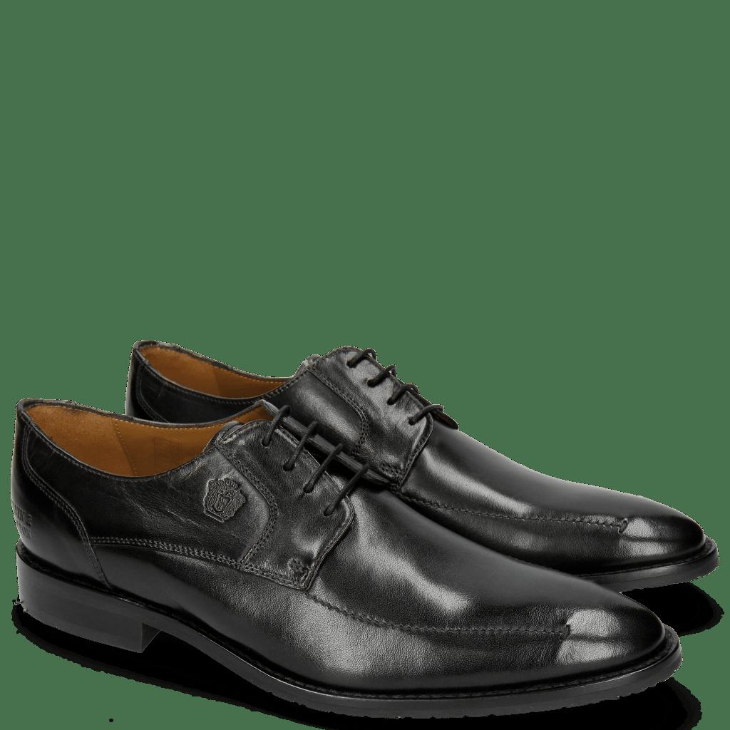 Derby Schuhe Victor 1 Rio Black