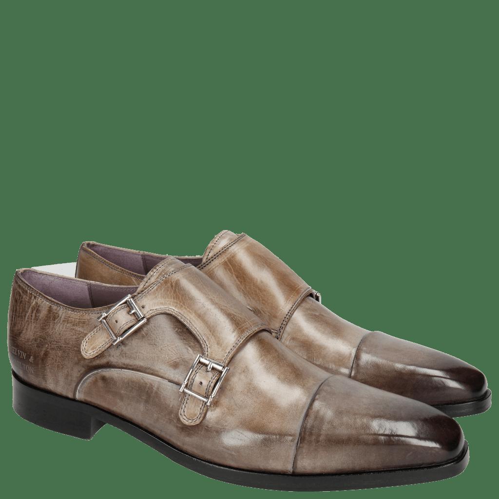 Monk Schuhe Lance 1 Crust Rope HRS