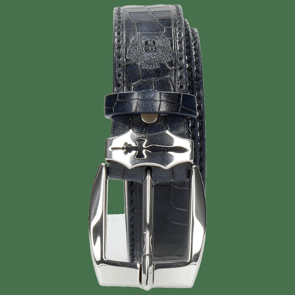 Gürtel Larry 1 Crock Navy Sword Buckle