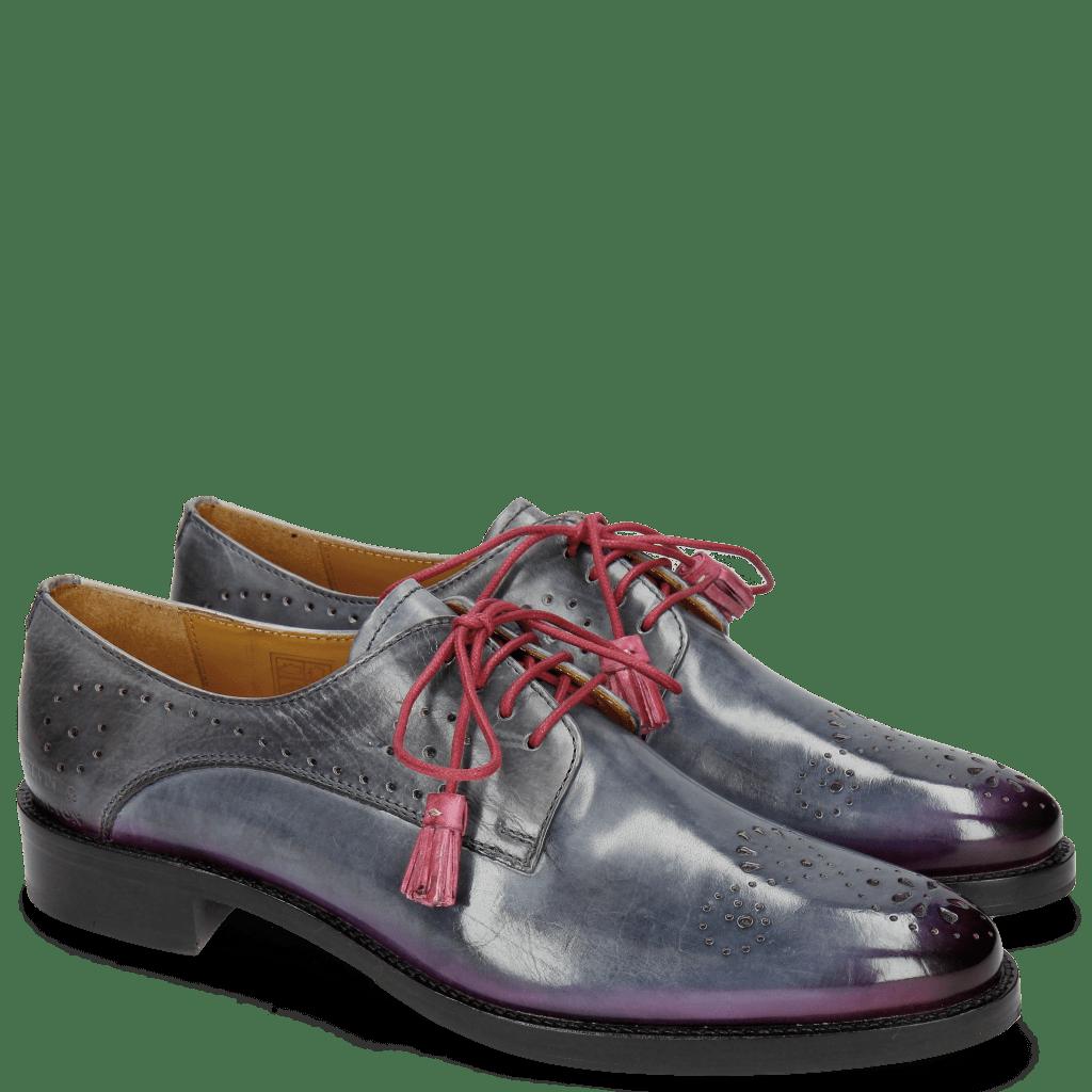 Derby Schuhe Betty 2 Satelite Shade Dark Pink