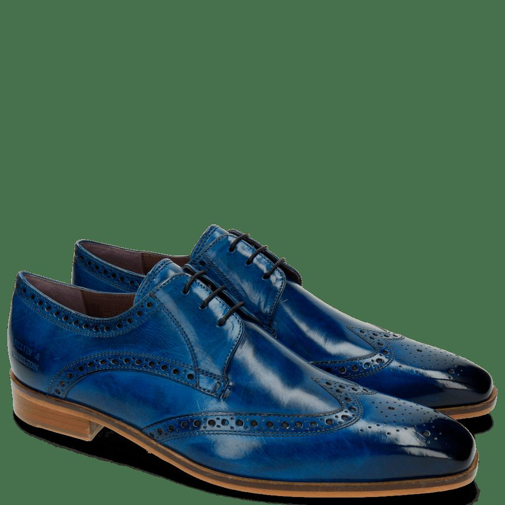 Derby Schuhe Lance 2 Bluette