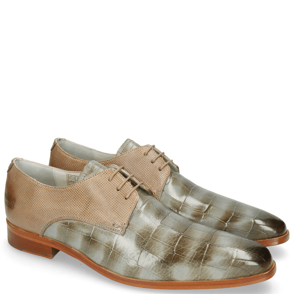 Derby Schuhe Lewis 13 Turtle Clear Water Dice Digital
