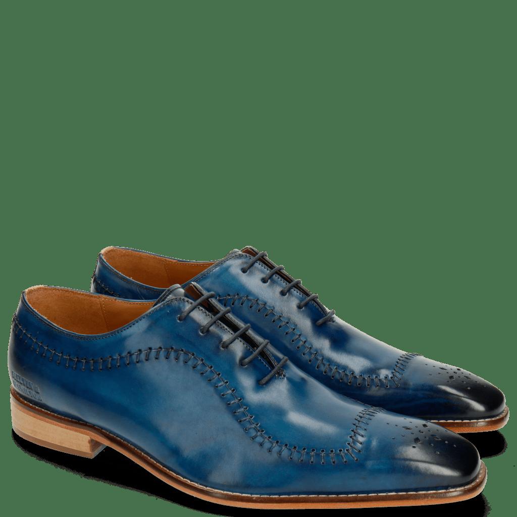 Oxford Schuhe Clark 2 Baby Brio Mid Blue