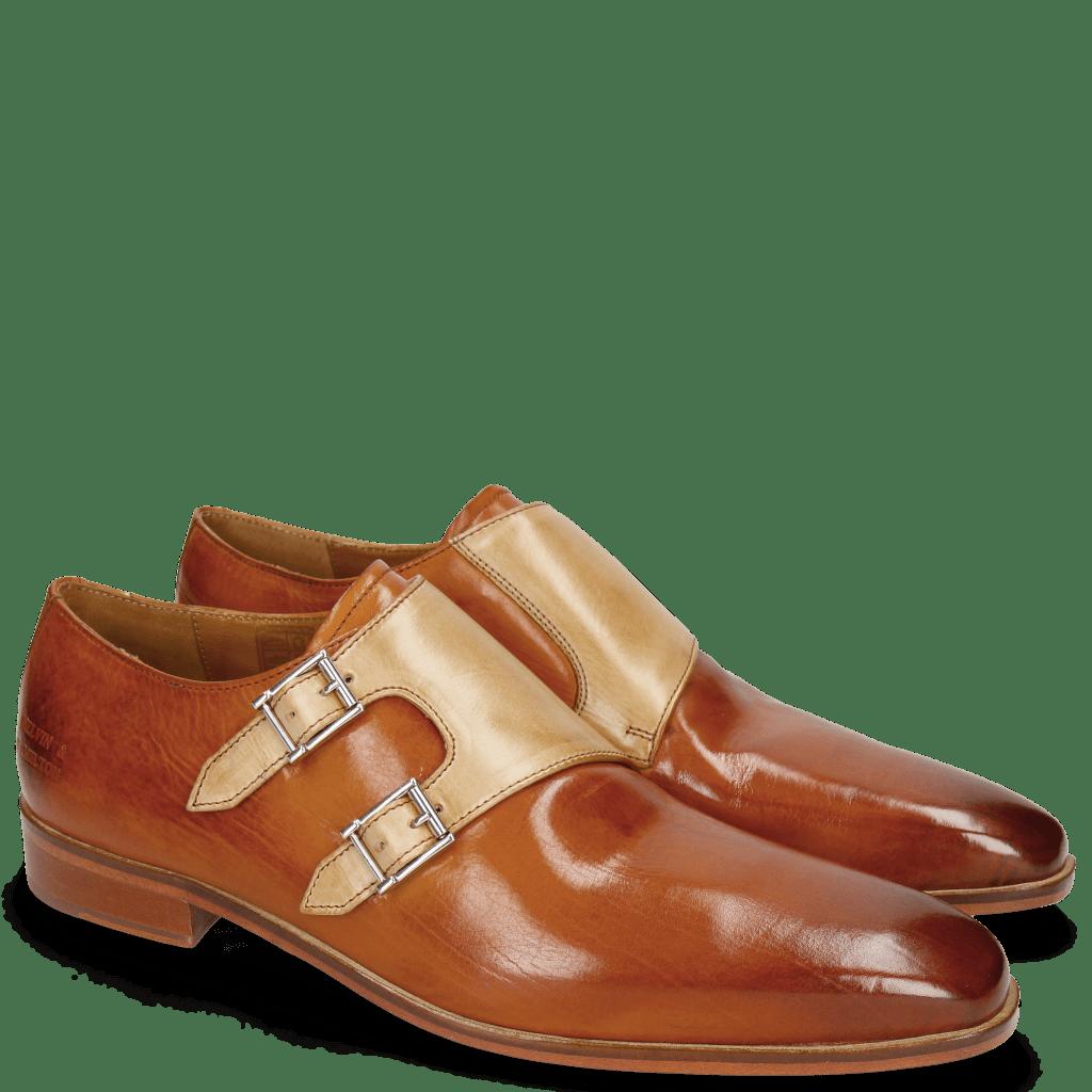 Monk Schuhe Lance 48 Cuoio Nude