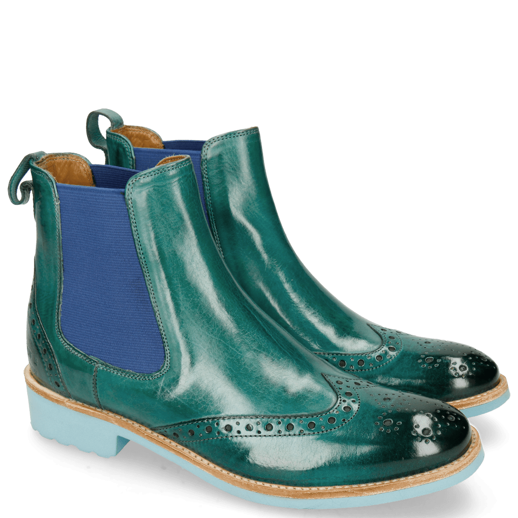 Stiefeletten Amelie 5 Abyss Elastic Electric Blue