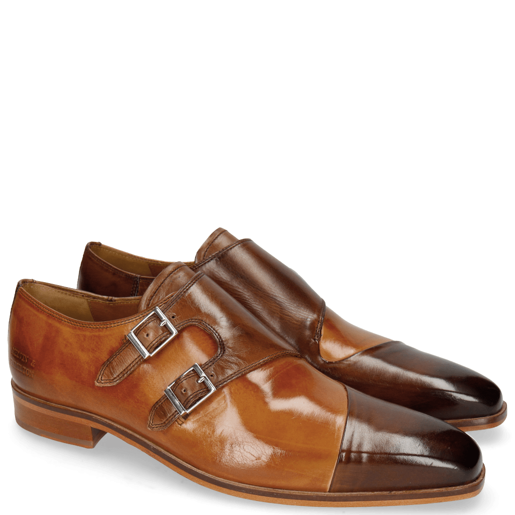 Monk Schuhe Lance 34 Mid Brown Tan
