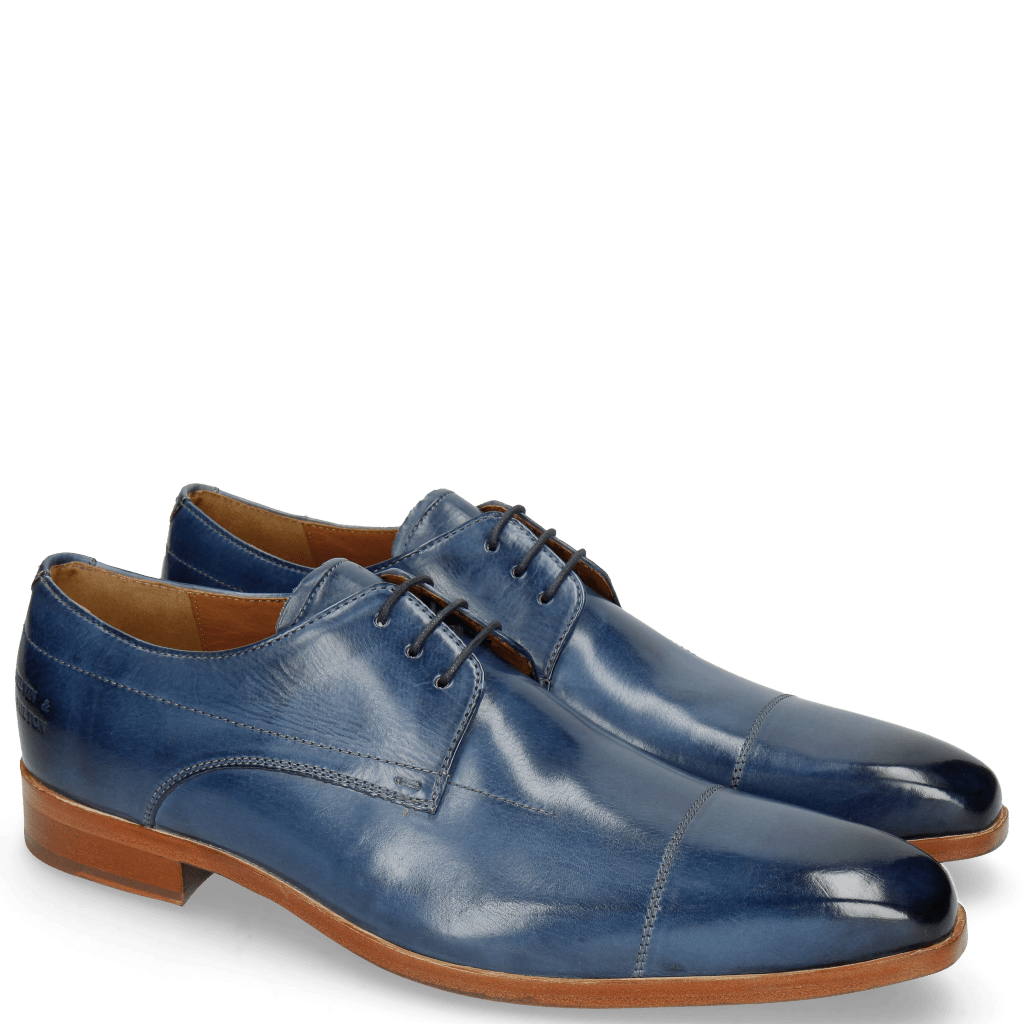 Derby Schuhe Lewis 8 Wind Lining Rich Tan