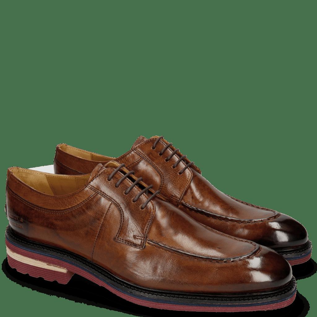 Derby Schuhe Patrick 13 Milano Wood