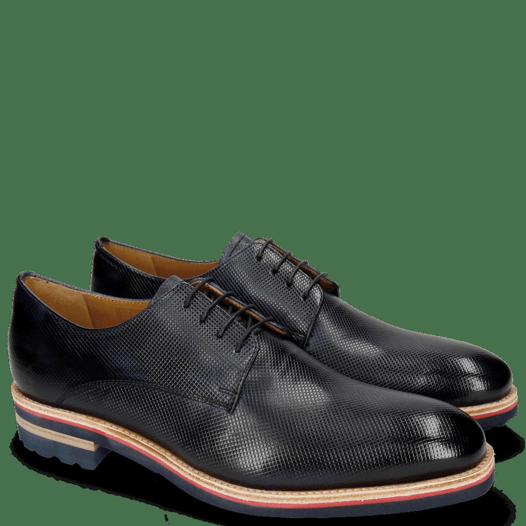 Derby Schuhe Tom 8 Dice Navy