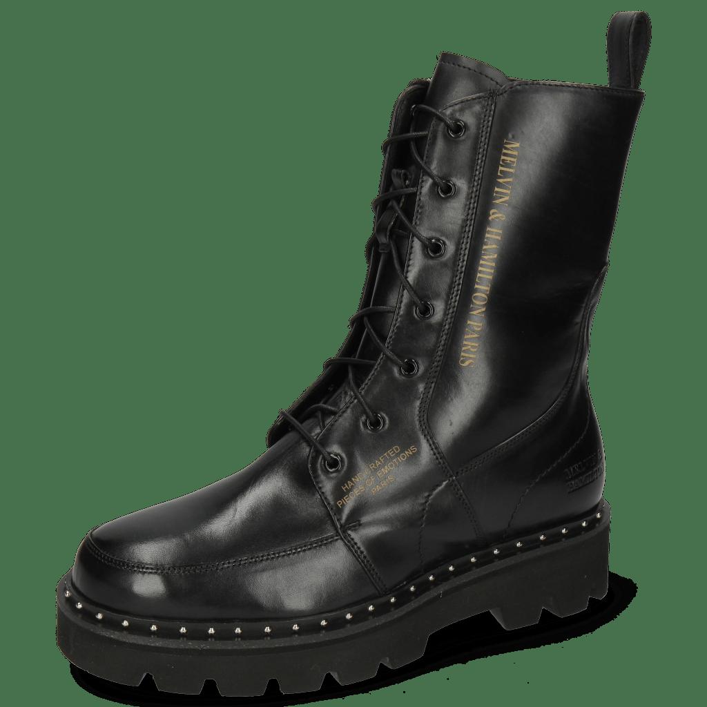 Stiefel Winslet 2R  Black Rivet