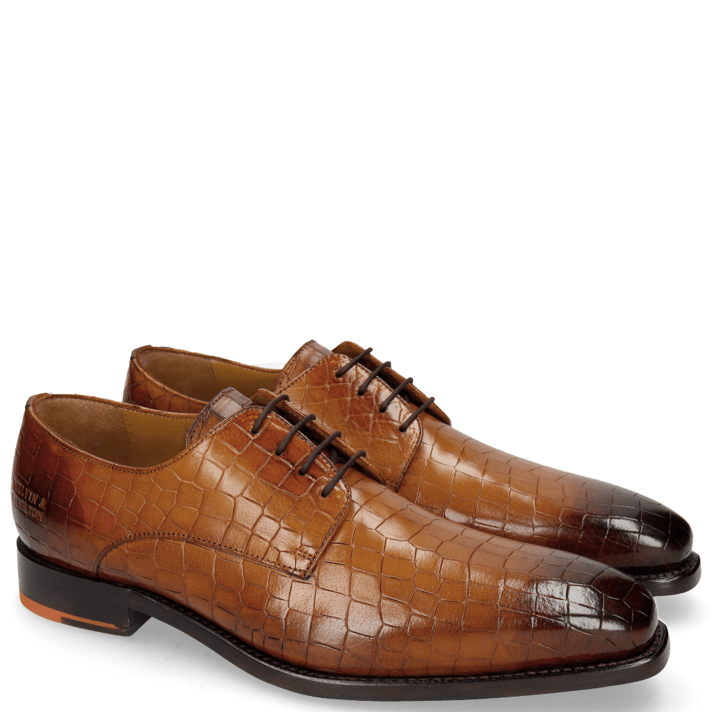 Derby Schuhe Kylian 4 Crock Wood