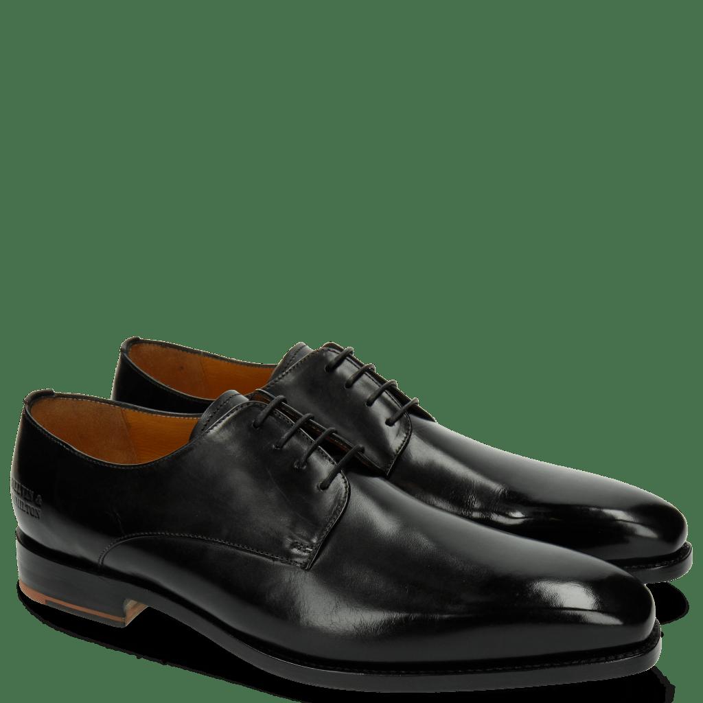 Derby Schuhe Kylian 4 Black LS Grey