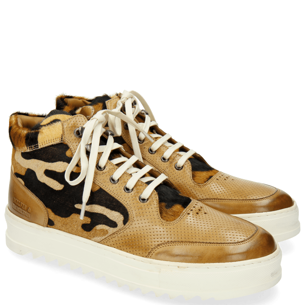Sneakers Max 1 Perfo Hair On Cashmere