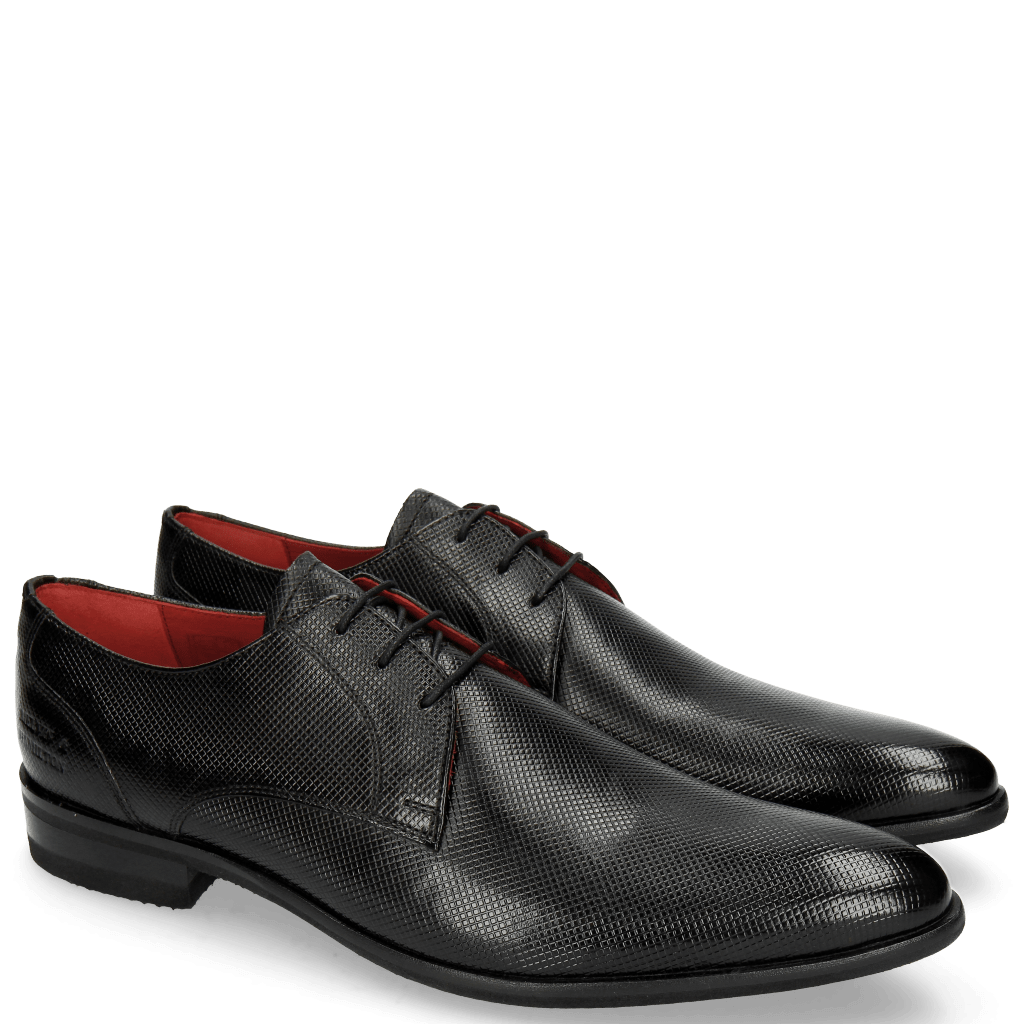 Derby Schuhe Toni 1 Dice Black Modica Black