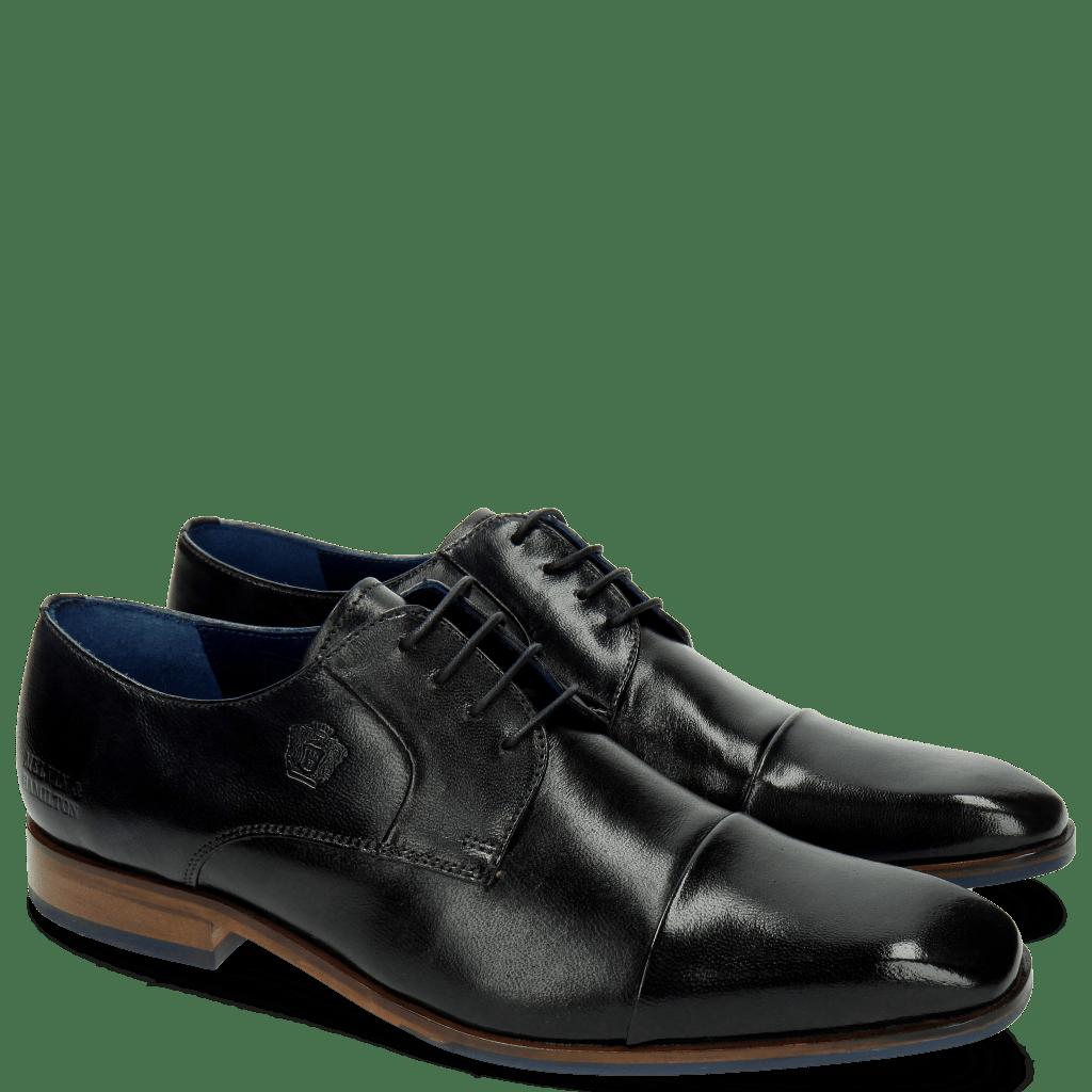 Derby Schuhe Rico 9 Rio Navy