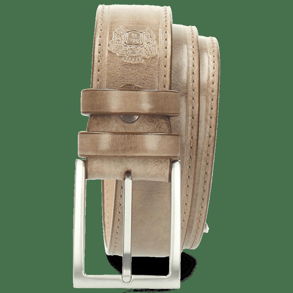 Gürtel Larry 1 Light Grey Buckle Classic
