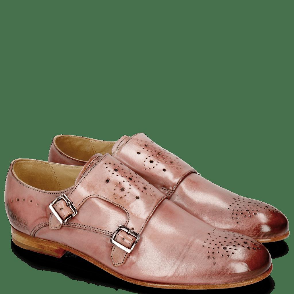Monk Schuhe Sally 39 Rose