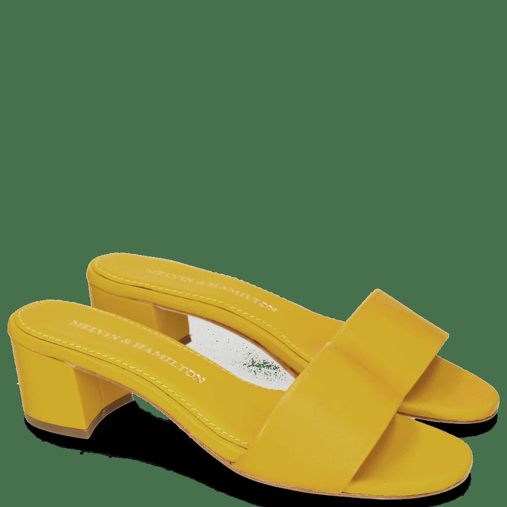 Pantoletten Alice 1 Sheep Yellow