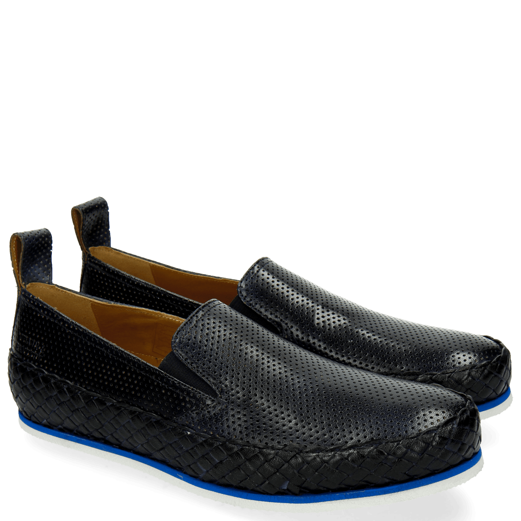 Loafers Alfred 1 Perfo Navy