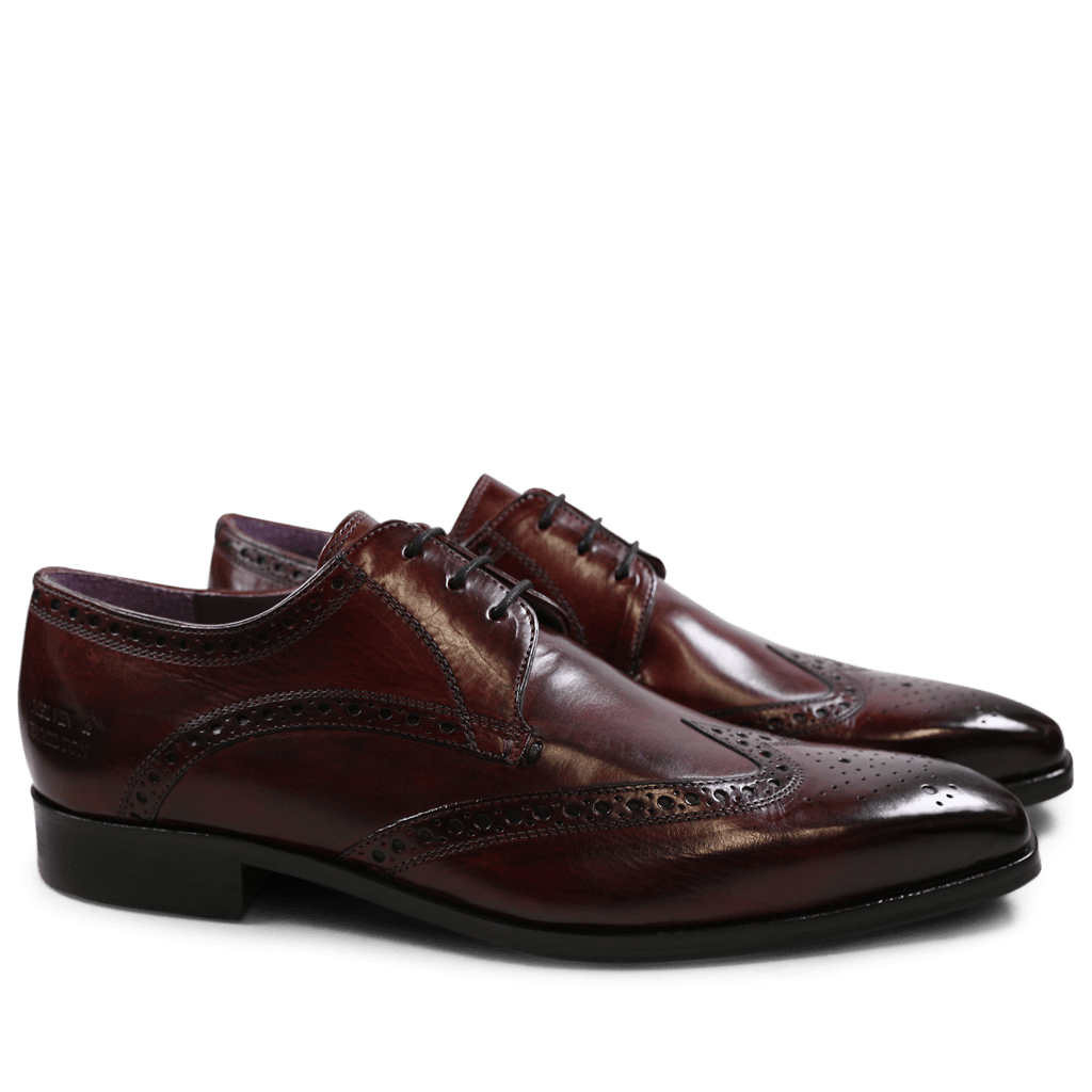 Derby Schuhe Lance 2 Crust Burgundy HRS