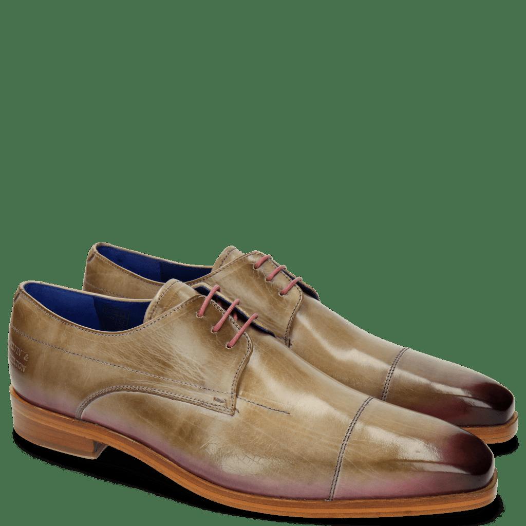 Derby Schuhe Lewis 8 Oxygen Shade Lilac