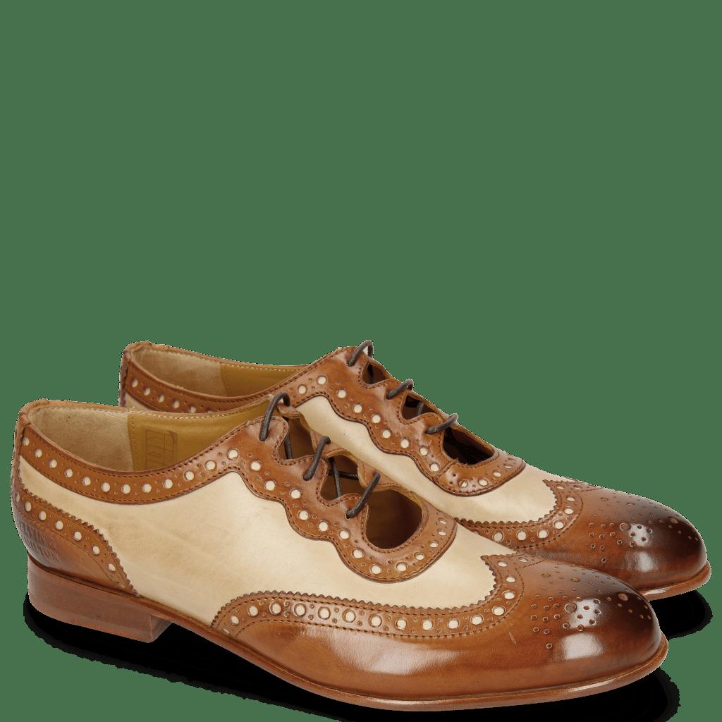 Oxford Schuhe Sally 101 Tan Nude