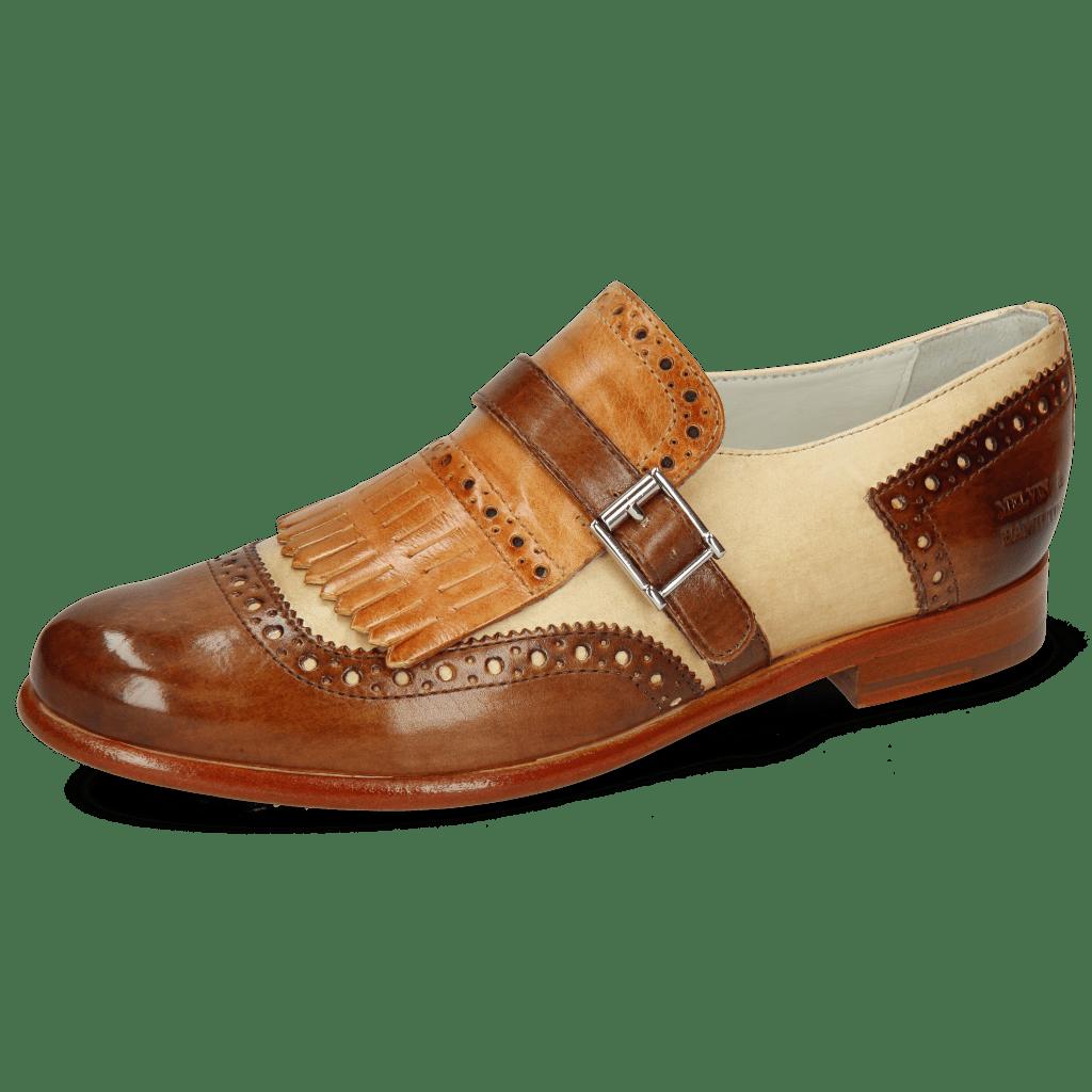 Monk Schuhe Selina 2 Vegas Mid Brown Sand Tan