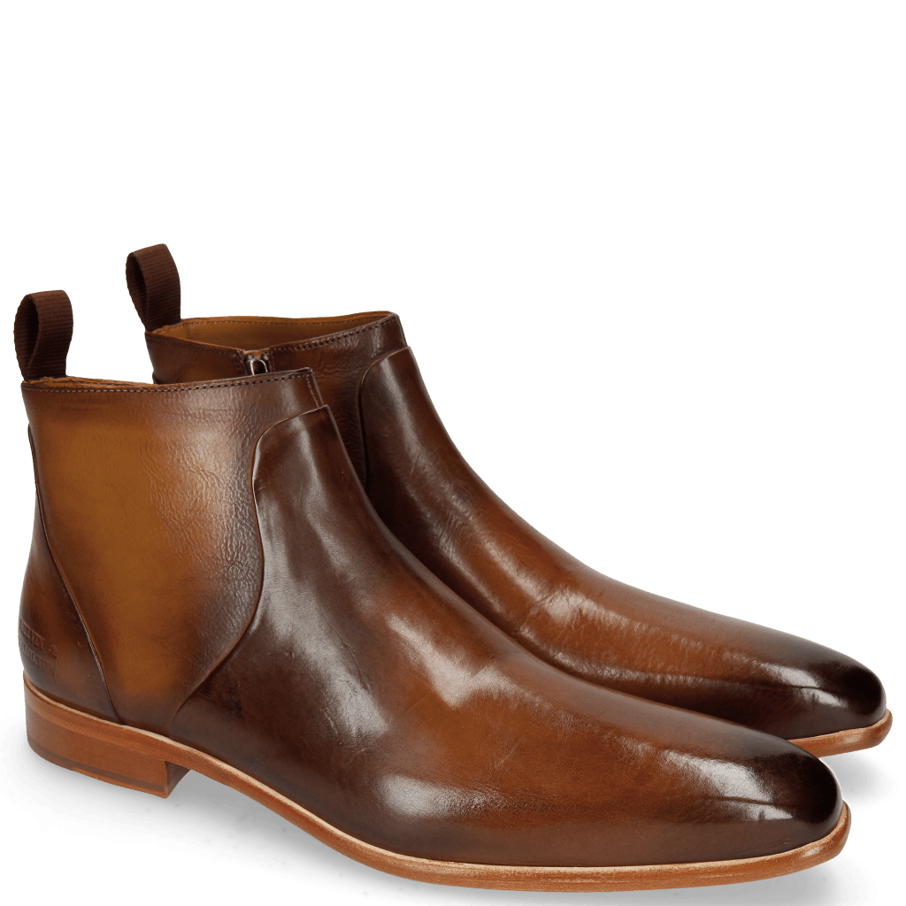 Stiefeletten Lance 51 Wood Nappa Glove Camel